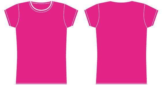 Girls t-shirt template   123Freevectors