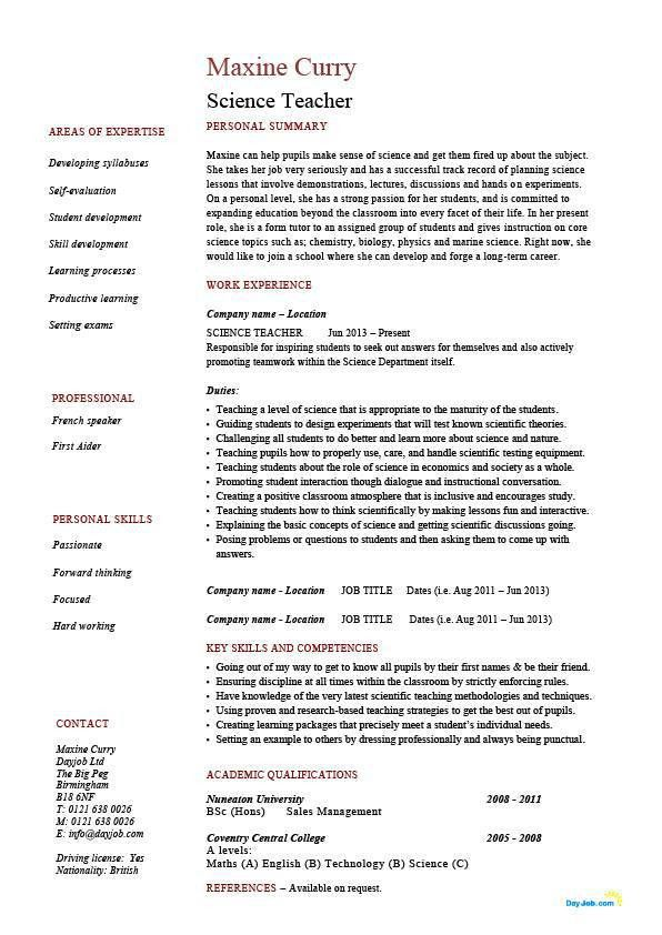 Teaching Position Recommendation Letter Sample. Write A Letter Of ...