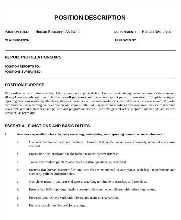 retail assistant description
