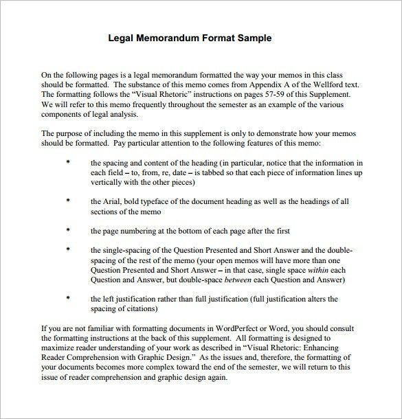 12+ Memorandum Templates – Free Word, PDF Documents Download ...