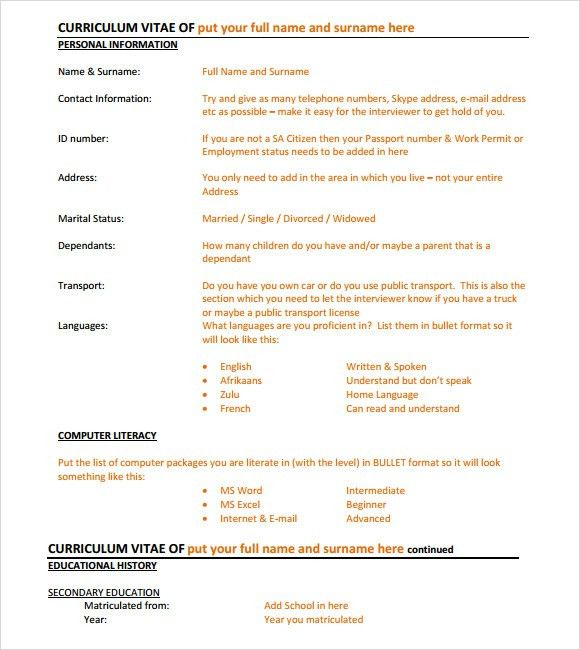 Executive Resume – 8+ Free Samples , Examples & Format