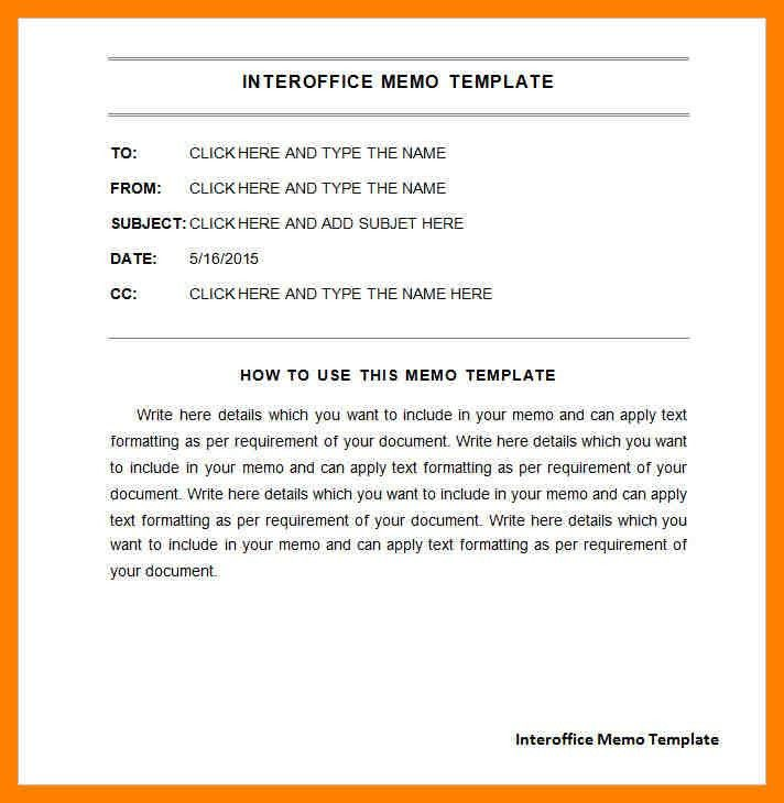 6+ interoffice memo example | emt resume