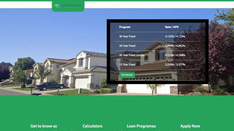 Mortgage Website Templates | Responsive Templates for Mortgage Web ...