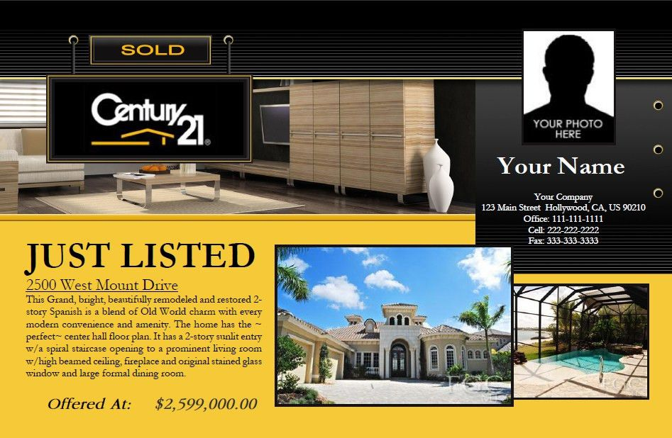 RealtySoft.com | Real Estate Prints Features, Fully Customizable ...