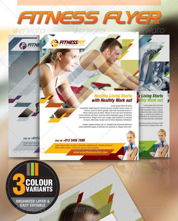 28 Best Sport Flyer Templates | Wakaboom - Part 35