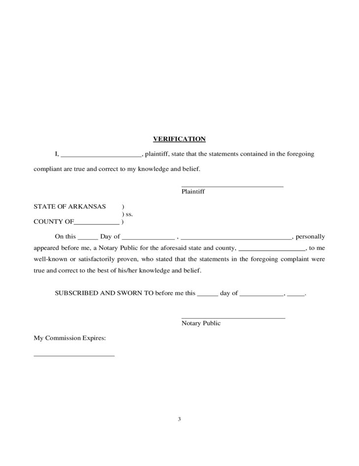 13 Best Images of Printable Arkansas Divorce Decree - printable ...