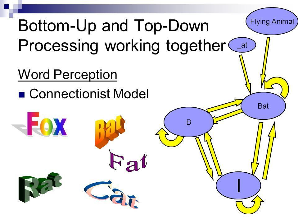 Perception 2. Figure 2-19 An example of context effects in ...