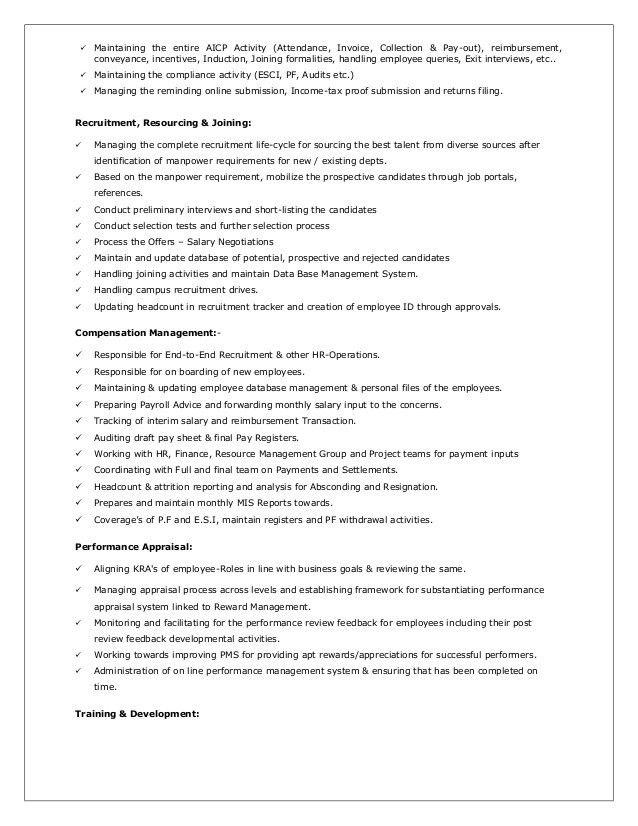 Pavan Resume - Account Manager