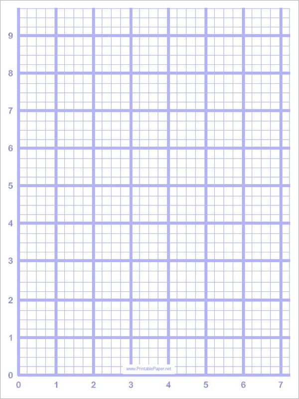 Sample Blank Graph Paper   9+ Free Documents In PDF