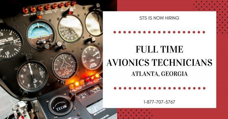 STS AeroStaff Services is Hiring Avionics Technicians in Atlanta ...