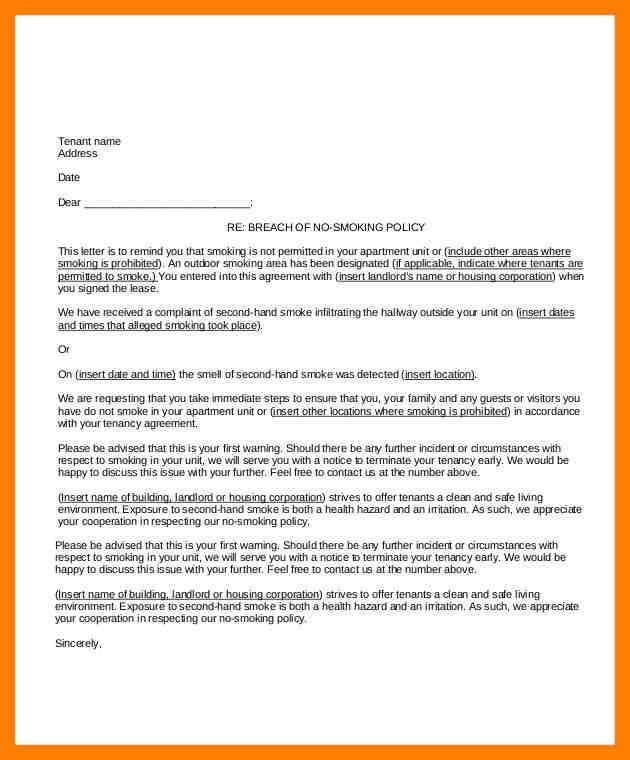 9+ letter to tenant | protect letters