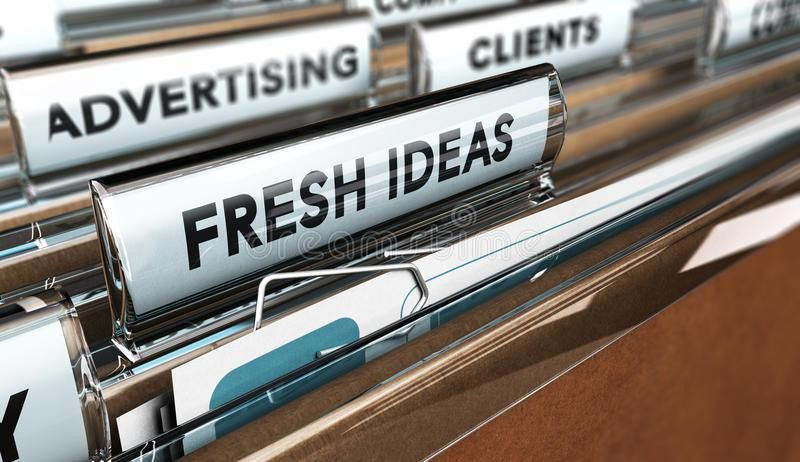 Advertising Company Or Agency Stock Illustration - Image: 58690634