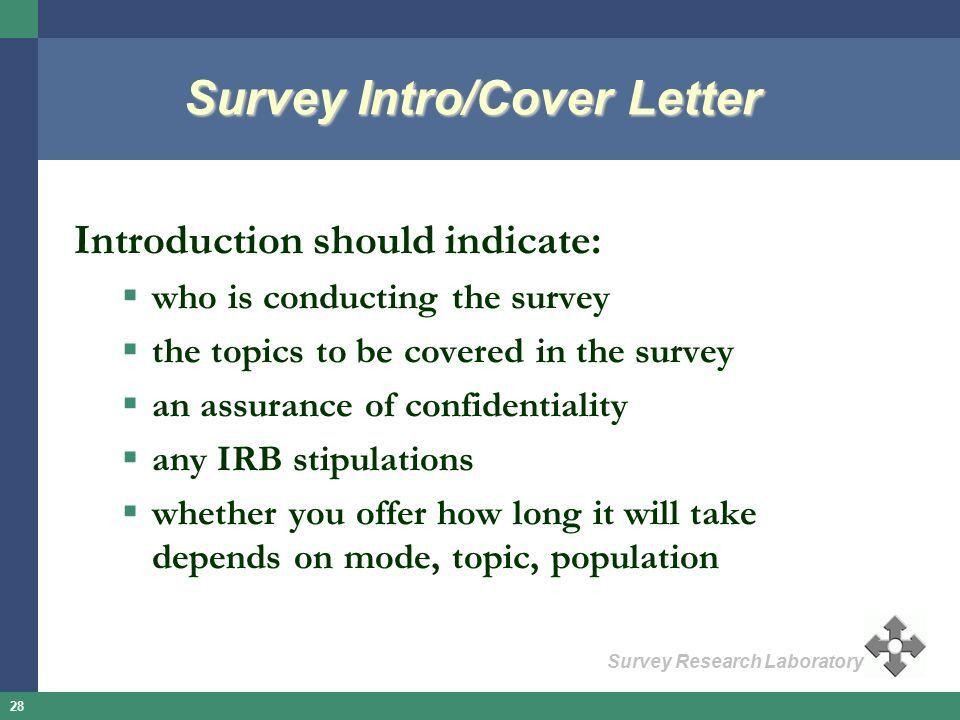 Irb cover letter sample