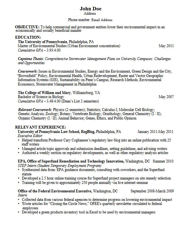 business resumes samples sample resumes. sample resume for a ...