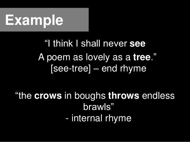 English (1 looking for rhymes)