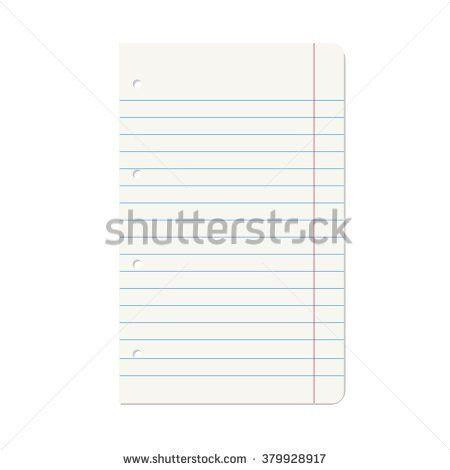 Notebook Paper Lines Vector Stock Vector 316866218 - Shutterstock