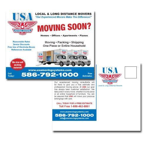 EDDM - Every Door Direct Mail Postcard Printing Metro Detroit, MI ...