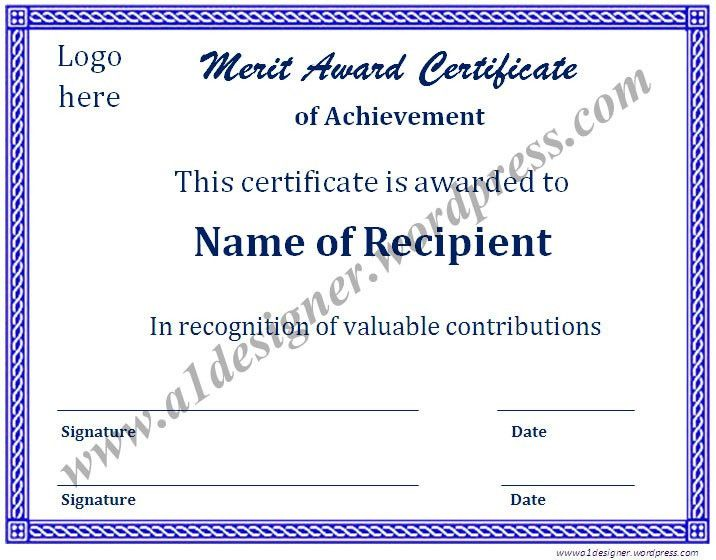 Certificate Templates | Graphics and Templates