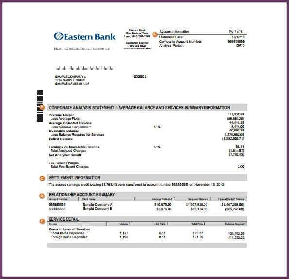 FAKE CHASE BANK STATEMENT | cvsampleform.com