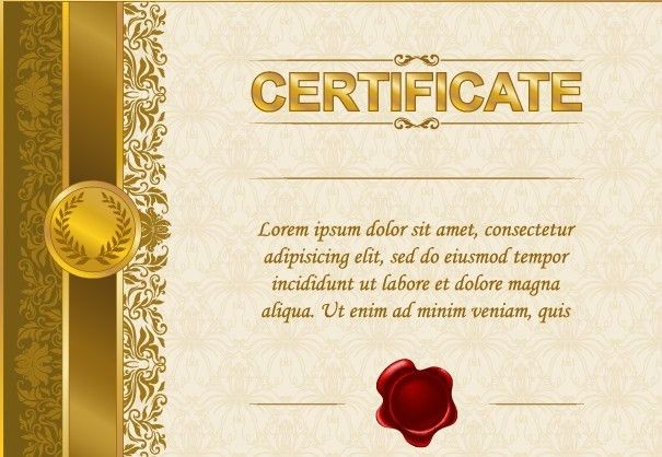 Certificate Template | Free Download Clip Art | Free Clip Art | on ...
