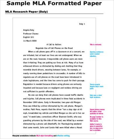 Sample Cover Page for Research Paper - 7+ Examples in Word, PDF