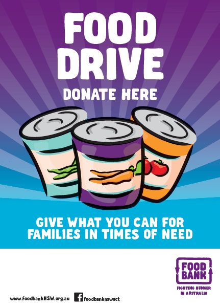 How to Hold a Great Food Drive - Foodbank NSW & ACT