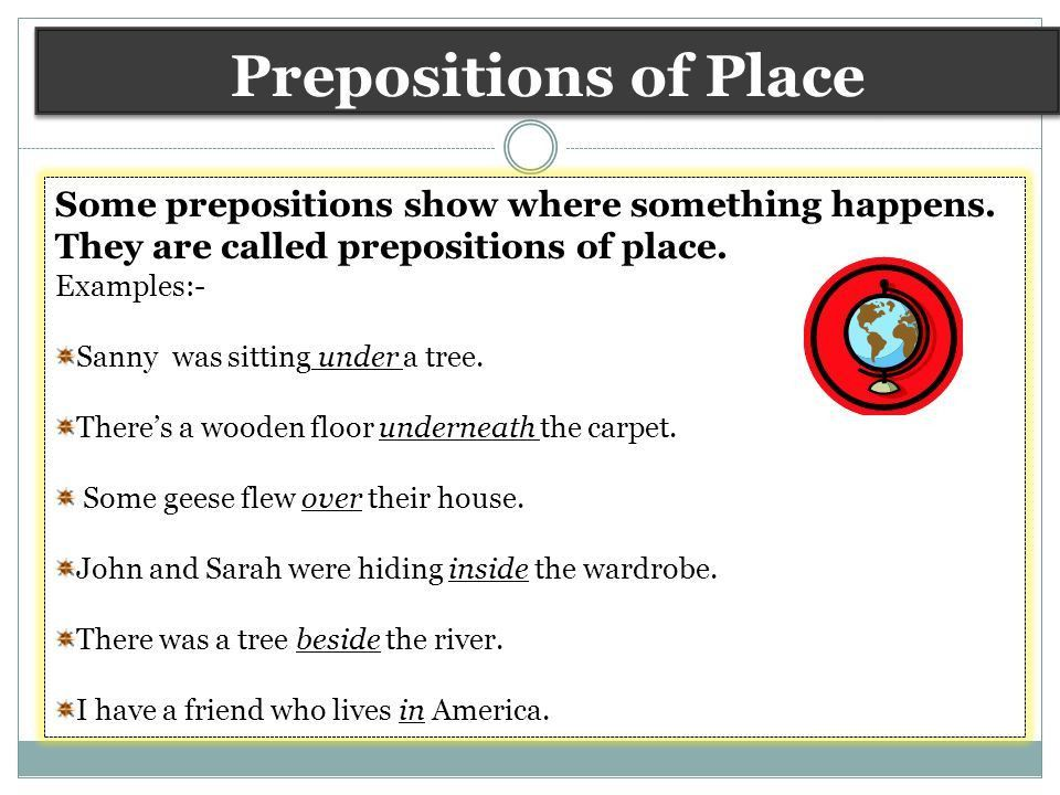 Definition: Preposition is a word, which is used before a noun, a ...
