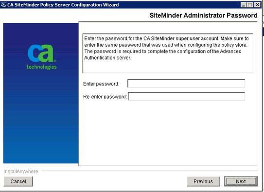 Upgrade CA SiteMinder for CA CSDP - CA Cloud Service Delivery ...