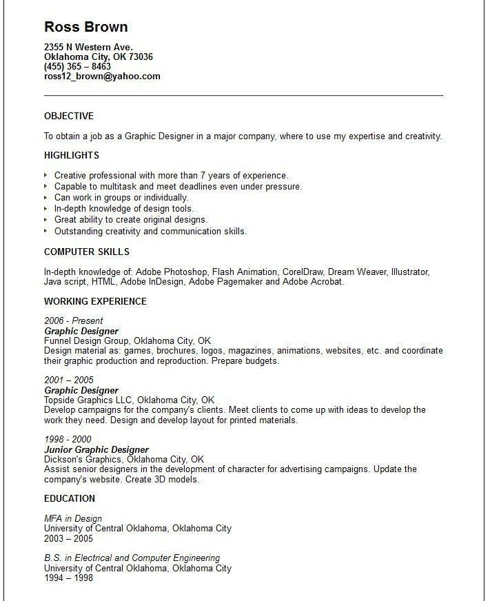 Resume Template For Internship. Internship Resume Builder Federal ...