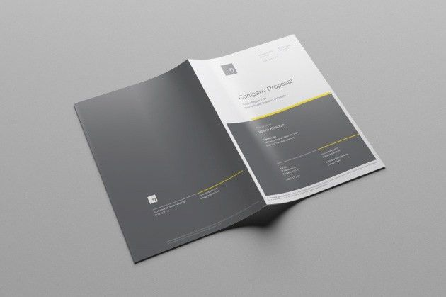 Free Business Proposal Template (AI) on Behance