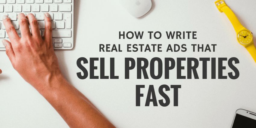 SOLD! How To Write Real Estate Ads That Sell Properties Fast ...