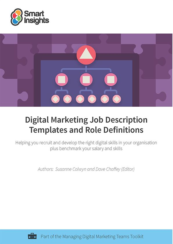 Digital marketing Job Description Templates and Role Definition