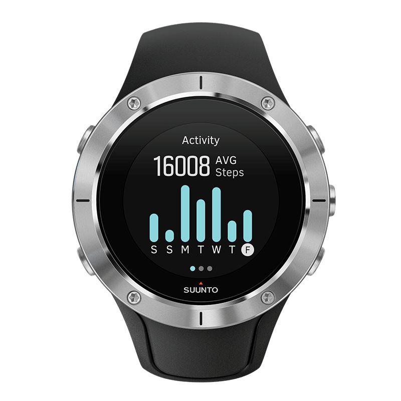 Suunto Spartan Trainer Wrist HR Steel - GPS training watch