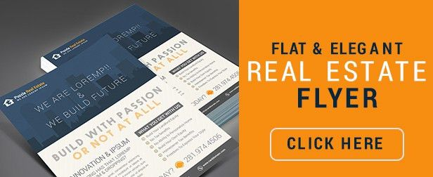 Creative Real Estate Agent / Real Estate Broker Flyer & Postcard ...