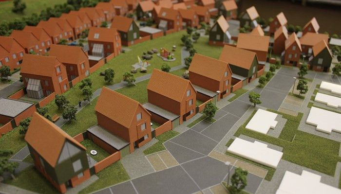 Horsted Park, Chatham sales model, new phase | MC Modelmaking