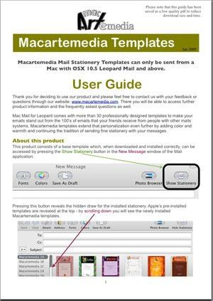 user manuals template