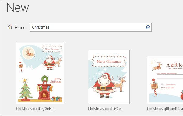 Find Christmas holiday templates for Office - Office Support