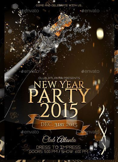 26 best New Year Flyer Template images on Pinterest | Business ...