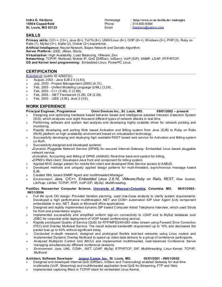 ruby on rails developer resume ruby on rails developer resume