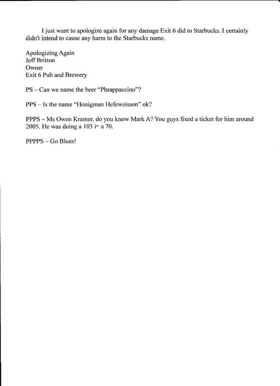 Resignation Letter Format: Exit Six Pub Resignation Letter Example ...