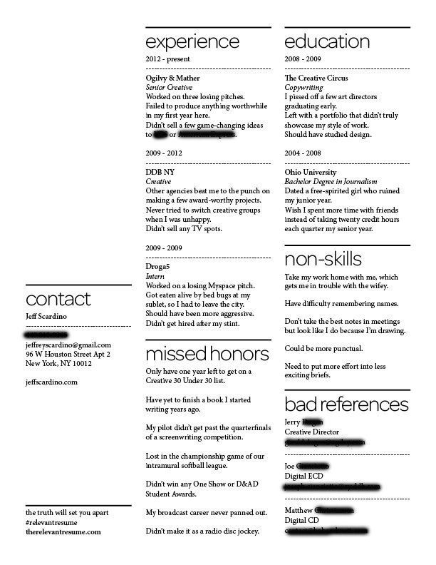 A resume of failures stands out to employers - Business Insider