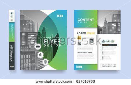 Poster Flyer Pamphlet Brochure Cover Design Stock Vector 558505030 ...