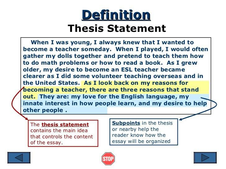 research essay thesis statement example thesis statement format ...