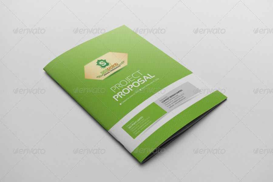 Corporate Creative Clean Project Proposal by ContestDesign ...