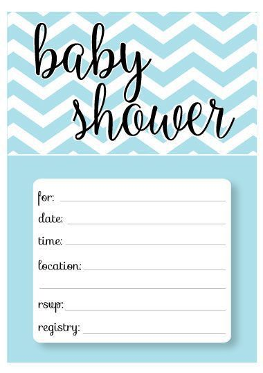 46 best Baby Shower Invitation Templates images on Pinterest ...