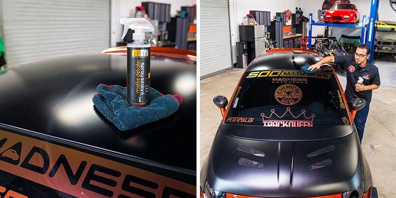 Chemical Guys - Meticulous Matte Detailer & Spray Sealant (16 oz)