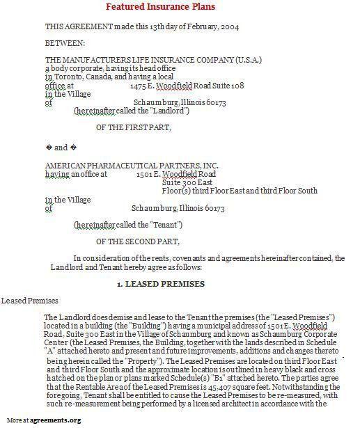 Simple Lease Agreements. Seasonal Apartment Residential Lease ...