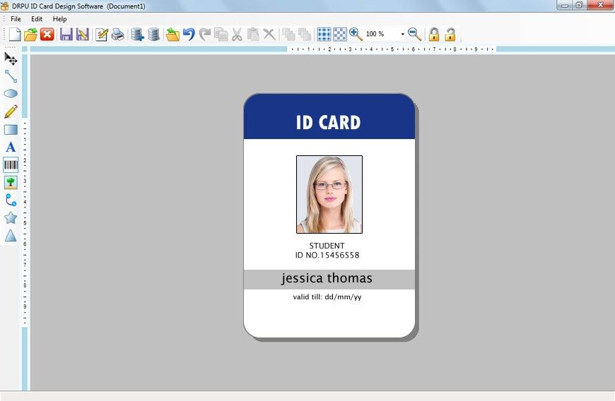 ID Card Template | cyberuse