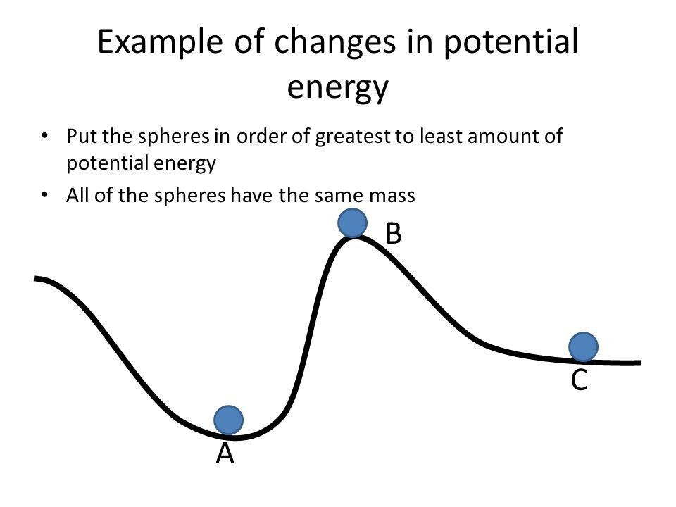Kinetic and Potential Energy Examples and Situations. - ppt download