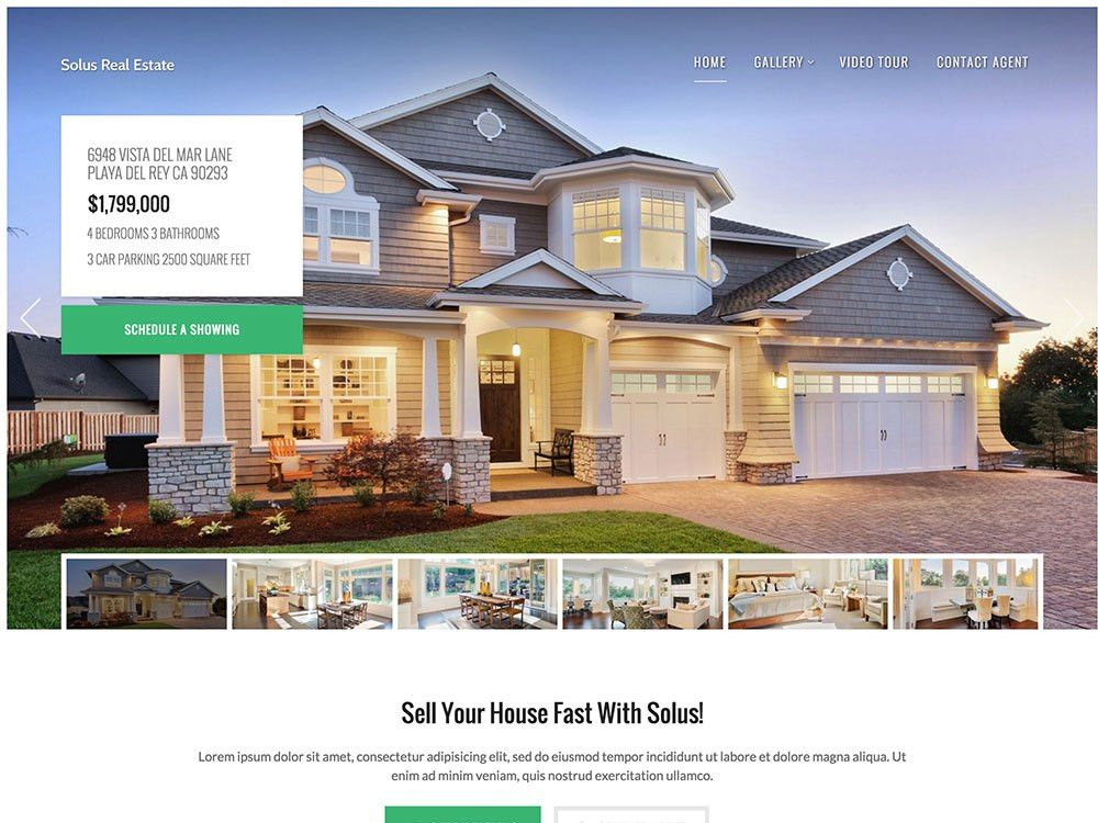 30+ Best Real Estate WordPress Themes 2017 - aThemes